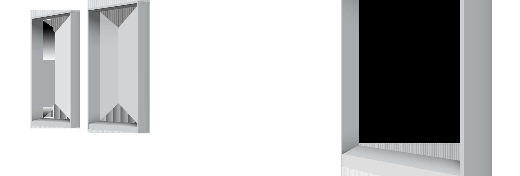Holonite Laibungen <br>Aussenfensterbank, Laibungen und Sturzverkleidung