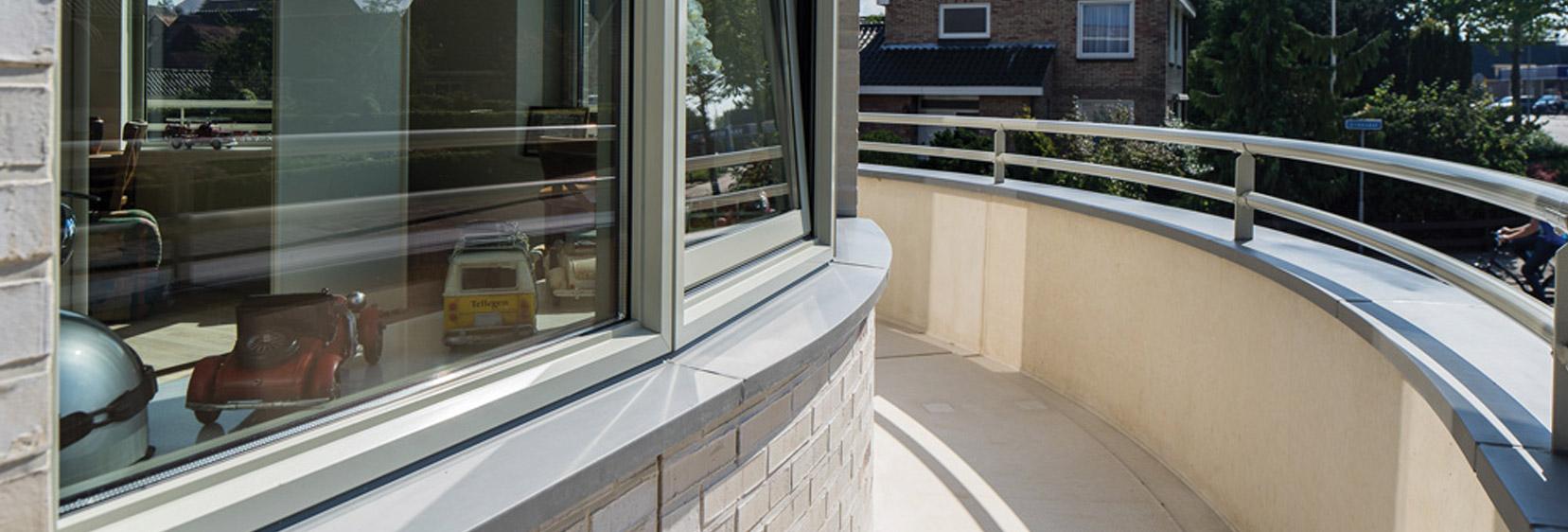 Maßangefertigte Mauerabdeckungen und Fensterbänke