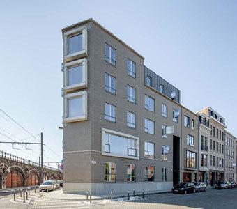 Neubau und Renovierung Antwerpen  –  Belgien