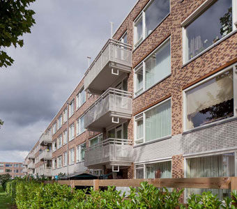 Fassadenerneuerung Utrecht-Overvecht