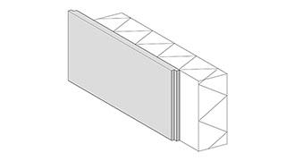 Fassadensockel - Fassadensockel Isoliert