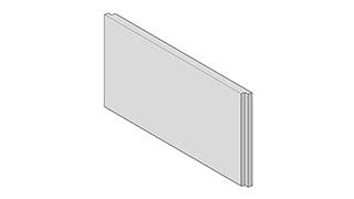 Fassadensockel - Fassadensockel Unisoliert